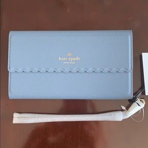 Kate Spade Leather iPhone 8 Plus wristlet
